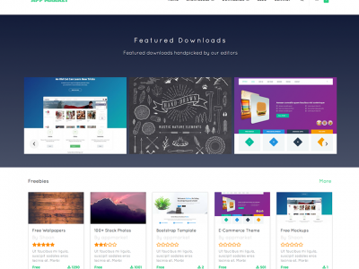 AppMarket – WordPress Digital Content Marketplace Theme