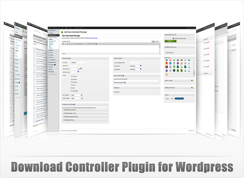 WordPress Download Manager - Best File and Document Management Plugin