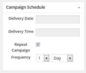 9 Campaign Schedule