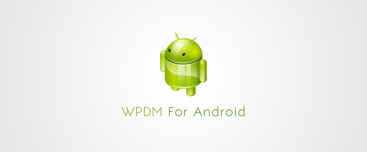 Android App for WordPress Download Manager