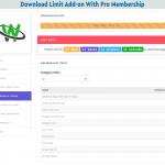 Membership Download Limit