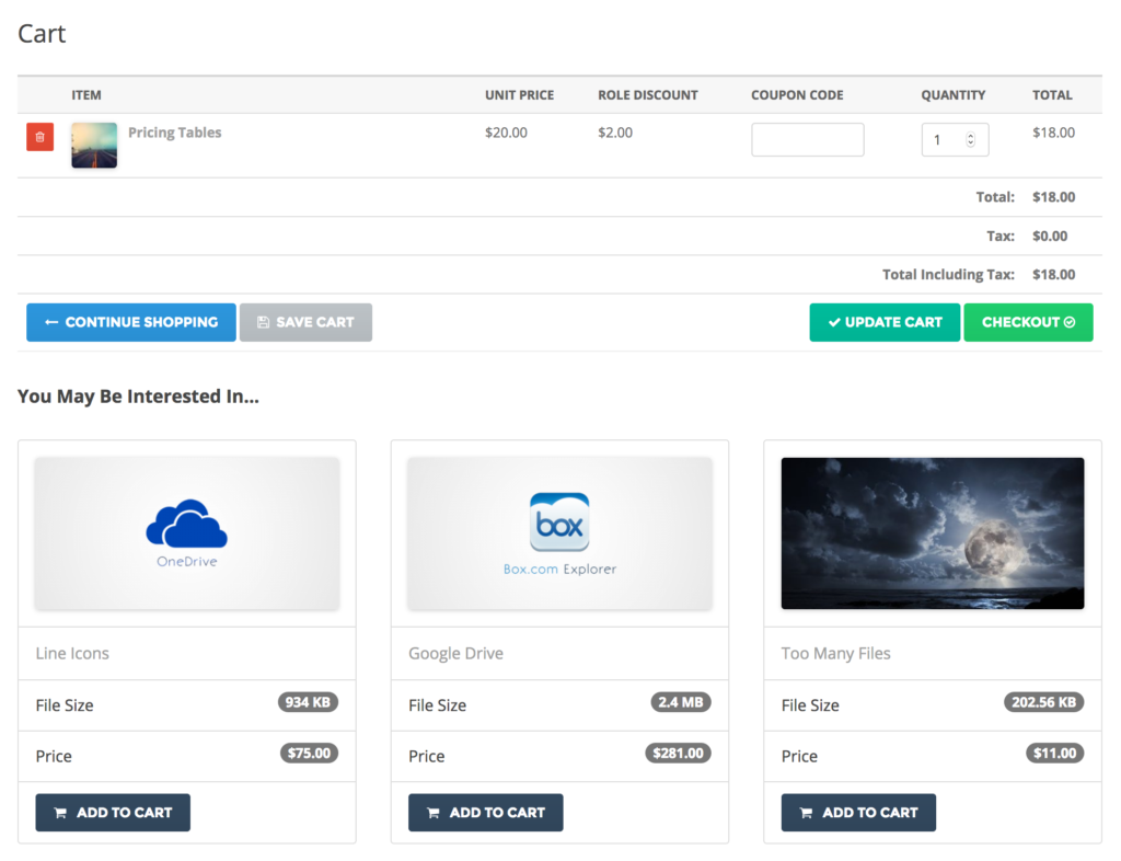 Cross-sell WordPress Download Manager