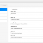 Membership Plugin - Payment Gateway Settings