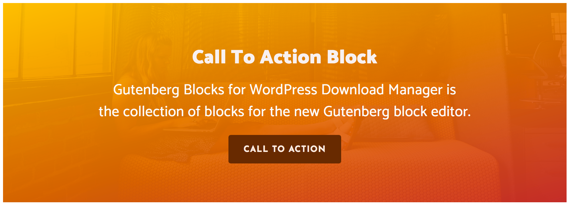 Gutenber Block - Call To Action