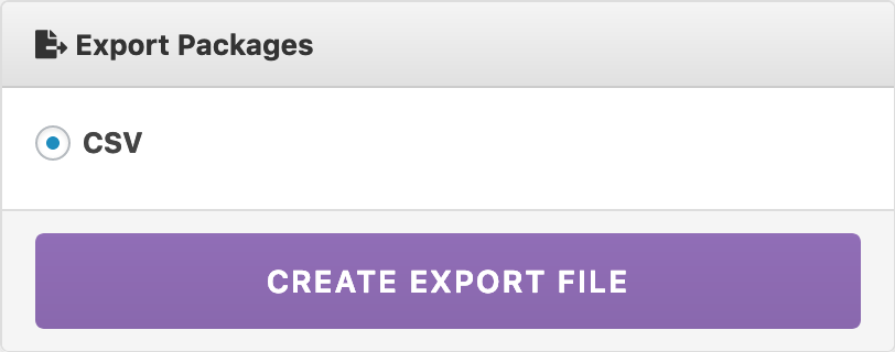 Export as CSV - WordPress Download Manager