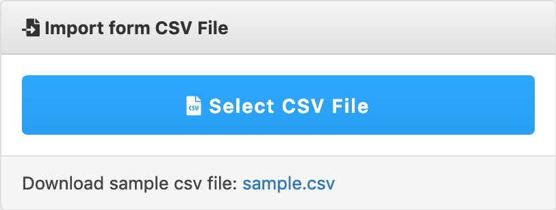 Import CSV File - WordPress Download Manager