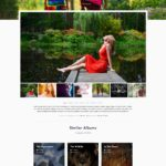 Photography Theme Album Page - WordPress Download Manager