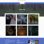 Photography Theme Category Page - WordPress Download Manager